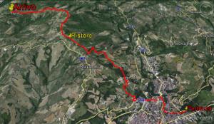 mappa in formato Google Earth Sentieri della Memoria