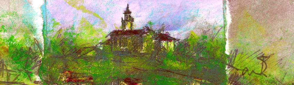 immagini storiche della frazione rapino di teramo - pittura