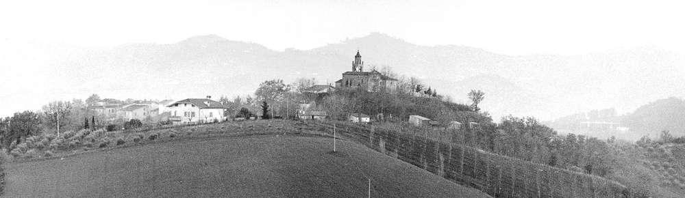 immagini storiche della frazione rapino di teramo - vista panoramica